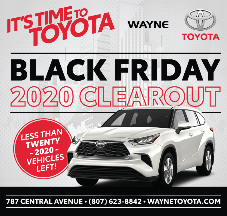 Wayne Toyota It's Time To Toyota Black Friday 2020 Clearout