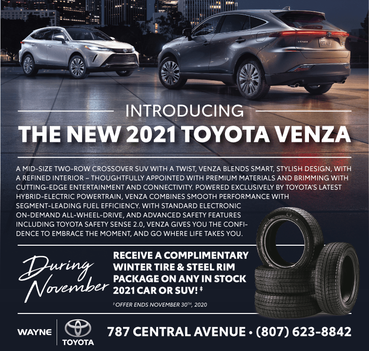 Introducing the new 2021 Toyota Venza