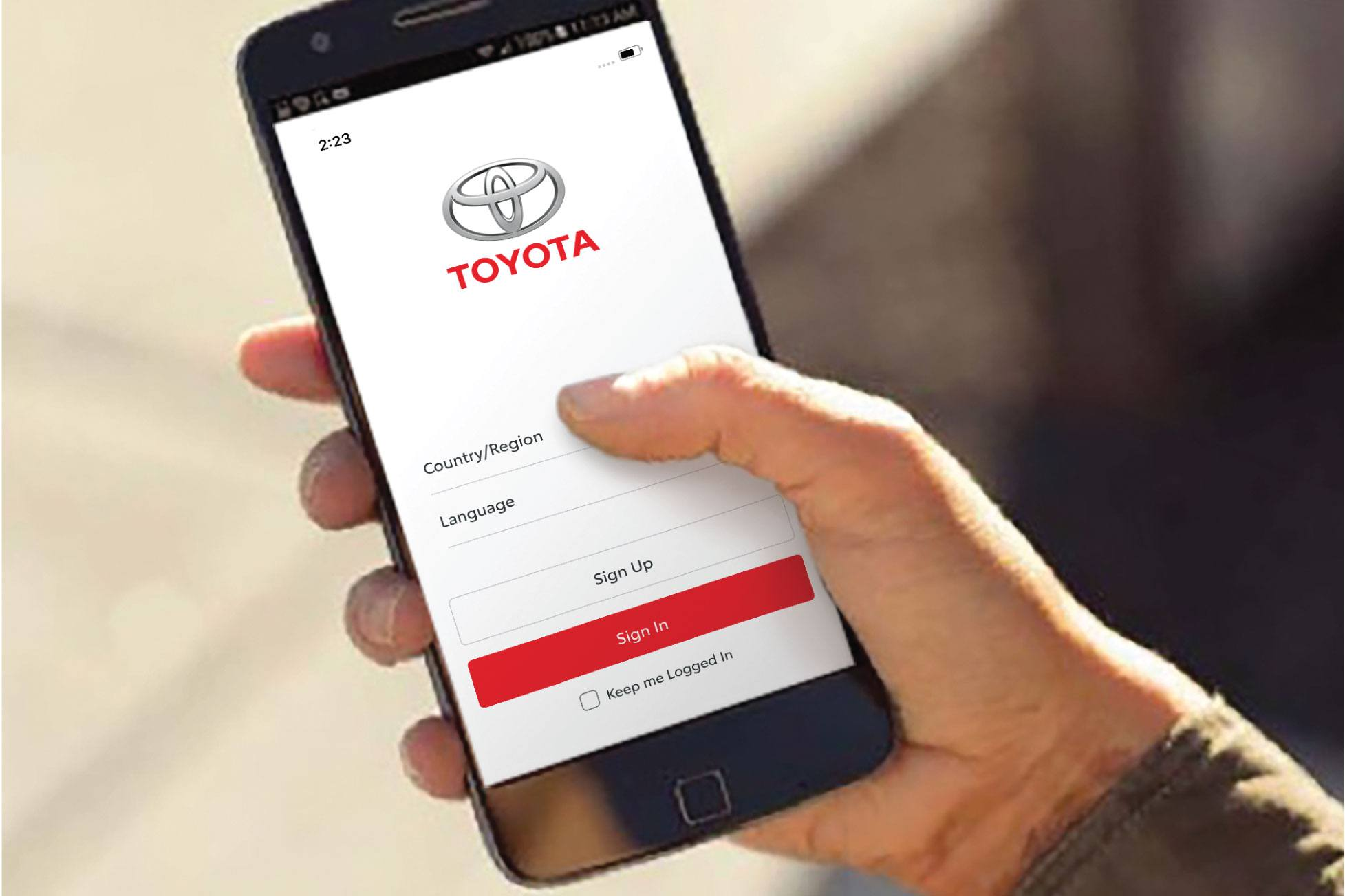 Toyota App Photo